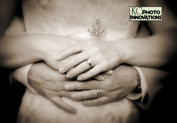 wedding rings KC Photo
