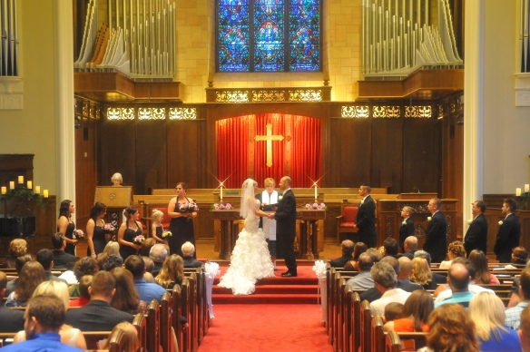 Wedding chappel wedding KC