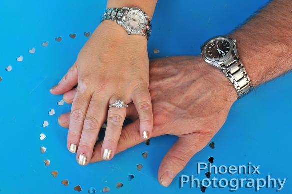 hands in Phoenix Photography photo shoot